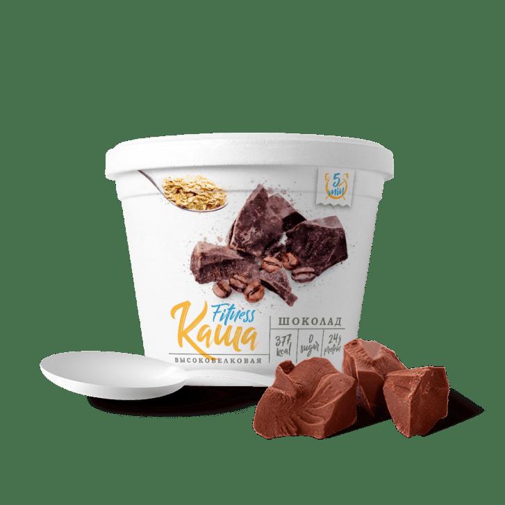 Fitness каша со вкусом шоколада