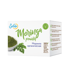 Моринга, порошок (Moringa powder), 125г