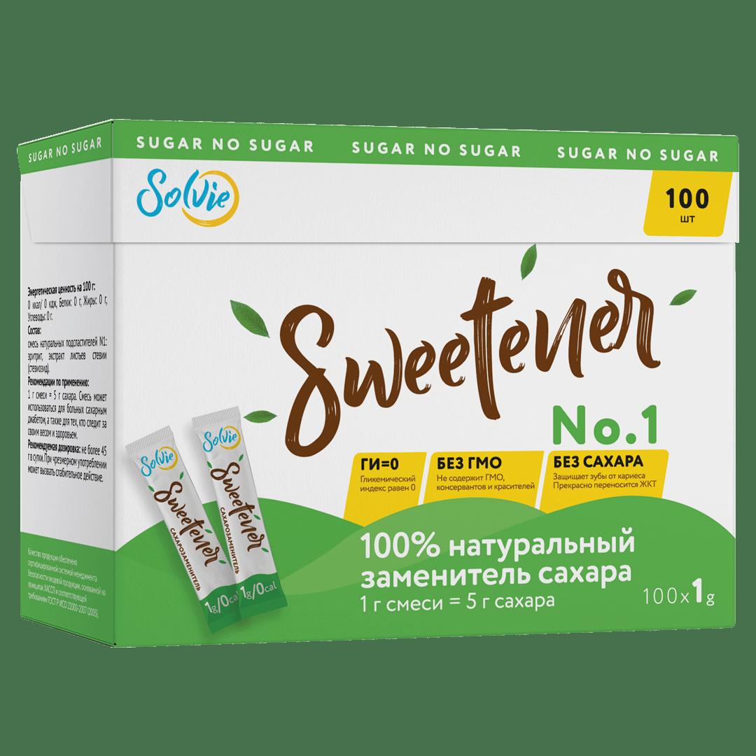 """Натуральный заменитель сахара """"Sweteener"""" N1, 100г"""